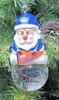 Item # 141224 - University of Florida Gators Santa Snow Globe Christmas Ornament