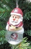 Item # 141225 - Florida State University Seminoles Santa Snow Globe Ornament