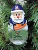 Item # 141238 - University of Virginia Cavaliers Santa Snow Globe Ornament