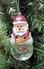 Item # 141239 - Virginia Tech Hokies Santa Snow Globe Ornament