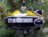 Item # 141252 - West Virginia University Mountaineers Blimp Ornament
