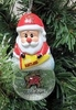 Item # 141256 - University of Maryland Terrapins Santa Snow Globe Ornament