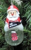 Item # 141260 - North Carolina State University Wolfpack Santa Snow Globe Ornament