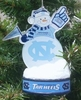 Item # 141271 - University of North Carolina Tar Heels LED Snowman Christmas Ornament