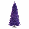 Item # 146011 -.7 Foot Paradise Purple Artificial Pre-Lit Christmas Tree With 450 Purple Lights