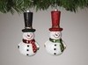 Item # 146028 - Top Hat Snowman Ornament