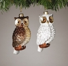 Item # 146040 - Brown/White Owl Ornament