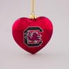Item # 146090 - University of South Carolina Gamecocks Heart Ornament