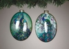 Item # 146191 - Peacock Oval Disc Ornament