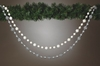 Item # 146308 - Silver/White Bead Garland