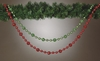 Item # 146334 - Green/Red Mica Bead Garland