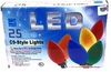 Item # 146462 - Set of 25 LED C9 Size Christmas Tree Lights With Multicolor Bulbs