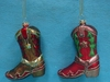 Item # 146502 - Cowboy Boot Christmas Ornament