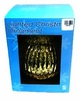 Item # 146550 - 150 MM Gold Glass Ball Ornament With 10 Lights