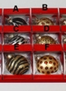 Item # 146785 - 100 MM Animal Print Ball Ornament
