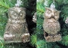 "Item # 147066 - 5"" Metallic Owl Ornament"