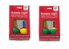 Item # 148528 - Set of 2 Multicolor C7 Size Bubble Lights