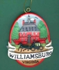 Item # 152090 - Oval Williamsburg Governor's Palace Ornament