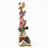 Item # 156045 - Stacked Christmas Characters Jim Shore Collectible Figure