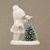 Item # 156193 - Bird Feeder Snowbabies Collectible Figure