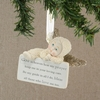 Item # 156320 - Hear My Prayers Snowbabies Collectible Christmas Ornament