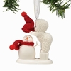 Item # 156507 - Top It Off Snowbabies Collectible Christmas Ornament