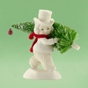Item # 156510 - Toting The Tree Snowbabies Collectible Figure