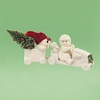 Item # 156516 - The Christmas Coupe Snowbabies Collectible Figure