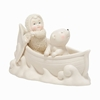 Item # 156520 - Two In A Canoe Snowbabies Collectible Figure