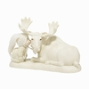 Item # 156562 - Kiss A Moose Goodnight Snowbabies Collectible