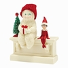 Item # 156571 - Elf On The Shelf Gives Snowbabies Collectible Figure