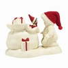 Item # 156577 - Elf On The Shelf Helps Snowbabies Collectible Figure