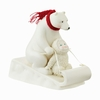 Item # 156645 - Bear-Boggan Snowbabies Collectible Figure