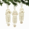 Item # 156685 - Hear Speak And See Baby Snowbabies Collectible Christmas Ornament