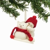 Item # 156693 - Snowcat Snowbabies Collectible Christmas Ornament