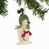 Item # 156695 - Baby's First Steps Snowbabies Collectible Christmas Ornament