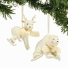 Item # 156730 - Ice Sliding Snowbabies Collectible Christmas Ornament