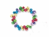 Item # 164006 - Multicolor Jingle Bells Bracelet