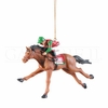 Item # 177035 - Jockey On Horse Christmas Ornament