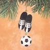 Item # 177052 - Soccer Cleats/Ball Christmas Ornament