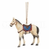 Item # 177076 - Saddled Pony Ornament
