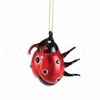 Item # 177103 - Glass Ladybug Ornament