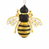 Item # 177106 - Glass Bee Christmas Ornament