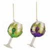 Item # 177108 - Wine Glass Christmas Ornament