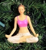 Item # 177111 - Yoga Lotus Pose Christmas Ornament