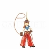 Item # 177120 - Lasso Cowgirl Christmas Ornament
