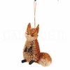 Item # 177172 - Buri Fox Christmas Ornament