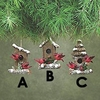 Item # 177240 - Cardinal Birdhouse Ornament