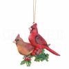 Item # 177241 - Cardinals On Holly Ornament