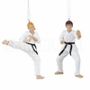 Item # 177247 - Karate Christmas Ornament